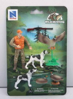 Wild Hunting Ducks and Tracking Dogs Playset: Toys & Games