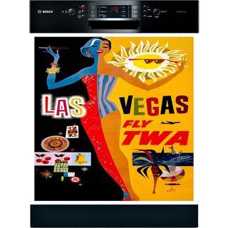 Appliance Art Las Vegas Vintage Dishwasher Cover