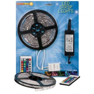 Sunshine Systems Color Changing LED Strip Light Kit