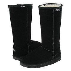 EMU Australia Kids Bronte Hi (Toddler/Youth) Black Boots