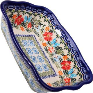 Polish Pottery Ceramika Boleslawiec, 1208/238, Fala Baker