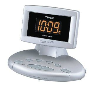 Timex T238S Nature Sounds Alarm Clock Radio Electronics