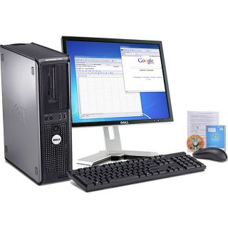 Dell Optiplex 760 2.6GHz 80GB Desktop Computer with 19 inch LCD