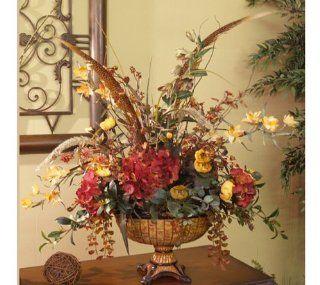 Silk Floral Arrangement Orchids and Hydrangea AR239 99