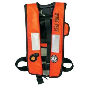 Mustang Inflatable Work PFD with HIT: Sports & Outdoors
