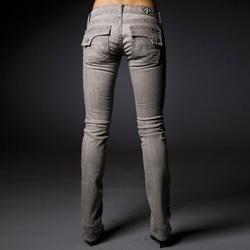 Laguna Beach Jean Co. Womens Sunset Beach Straight Leg Denim Jeans