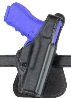 Safariland 518 Paddle Holster   Plain Black, Right Hand