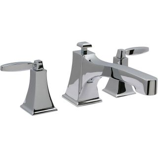 Chrome Roman Tub Filler Bathroom Faucet