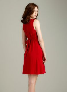 JFW Knot Front Jersey Dress