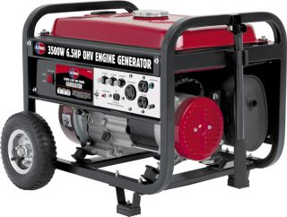 All Power America 3500 watt 6.5 HP Generator with Mobility Kit
