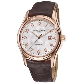 Frederique Constant Mens Runabout Automatic Rose Goldplated Watch