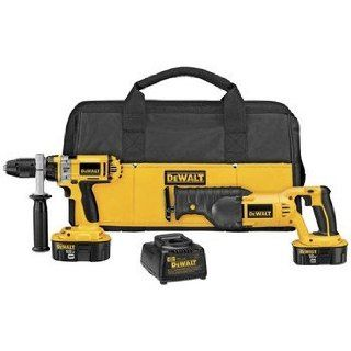 Factory Reconditioned DEWALT DCK241XR 18V XRP Cordless Ni Cd 2 Tool