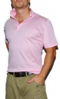 Polo Ralph Lauren Purple Label Mens Mesh Shirt Pink Medium
