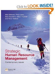Sraegic Human Resource Managemen Conemporary Issues Mark