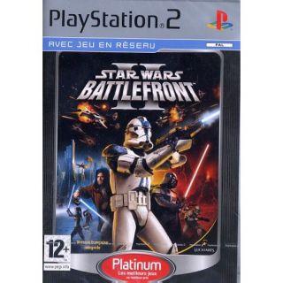 STAR WARS BATTLEFRONT II / PS2 Platinum   Achat / Vente PLAYSTATION 2