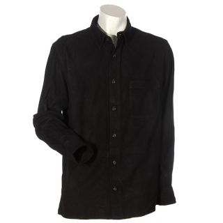Ralph Lauren Young Mens Suede Shirt Jacket