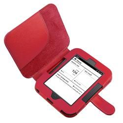Leaher Case/ ravel Charger for Barnes & Noble Nook Simple ouch