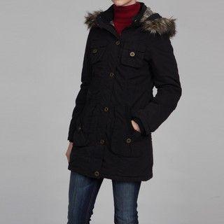 Steve Madden Womens Cotton Canvas Coat FINAL SALE