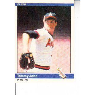 1984 Fleer #522 Tommy John Baseball