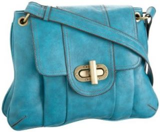 Melie Bianco W8 251 Shoulder Bag,Teal,one size Shoes