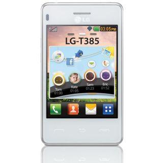LG T385 Wi Fi Blanc   Achat / Vente TELEPHONE PORTABLE LG T385 Wi Fi