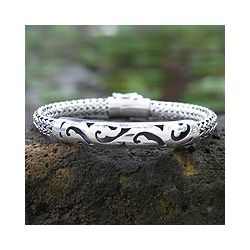Sterling Silver Balinese Finesse Bracelet (Indonesia)