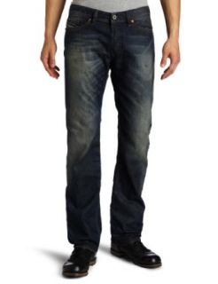 Diesel Mens Viker Regular Slim Fit Straight Leg Jean