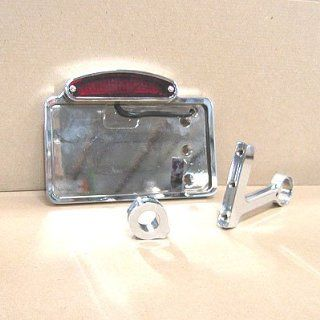 SIDE HORIZONTAL MOUNT LED TAILLIGHT LICENSE BRACKET FOR HARLEY