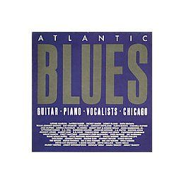 Atlantic Blues Guitar, Piano, Vocalists, Chicago Various