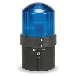Schneider Electric XVBL8G6 Warning Light, Strobe Tube, Blue, 120VAC