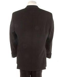 Hugo Boss Mens Three button Black Suit