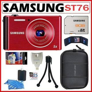 Samsung ST76 16MP Digital Camera with 8GB Kit