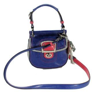 Coach Leather Colorblock Mini New Willis Shoulder Crossbody Handbag