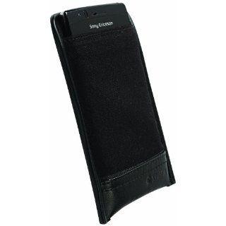 Krusell Lund Leder Etui für Sony Ericsson Xperia Arc