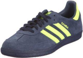 Adidas Samba Dark Indigo Electric Yellow Schuhe