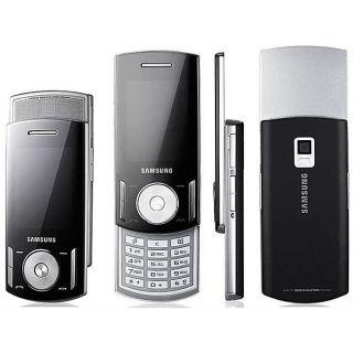 Samsung F406 GSM Unlocked Black Cell Phone