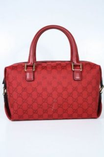 Gucci Handbags Red Fabric and Leather 272375 Clothing