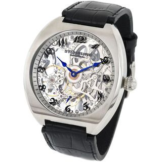 Stuhrling Original Mens Chernabog Skeleton Watch