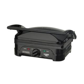 Waring Pro Black Electric Indoor Grill and Griddle