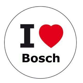 love Bosch Aufkleber   6 cm Durchmesser Auto