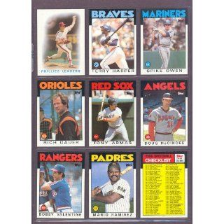 1986 Topps #247 Terry Harper Braves (Mint): Collectibles