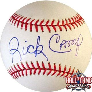 Rick Camp Autographed/Hand Signed Official Rawlings MLB