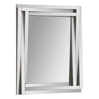 Delaney Staggered Glass framed Mirror
