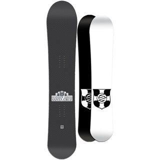 Santa Cruz Mens Black Twinza Platinum 159cm Snowboard