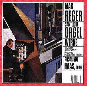 Max Reger Sämtliche Orgelwerke Vol. 1 Musik