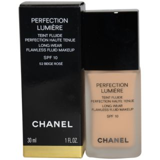 Chanel Perfection Lumiere 052 Beige Rose Flawless Fluid Makeup Today