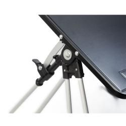 Portable Black Laptop Table and Work Station