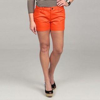 Calvin Klein Womens Firecracker Denim Shorts FINAL SALE