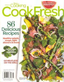 CookFresh 86 Delicious Recipes (Spring 2012,The Best of