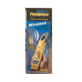 Fieldpiece SC57 Wireless rue RMS Swivel Head Clamp Meer